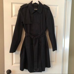 Banana Republic Trench Coat with Belt. Size XL